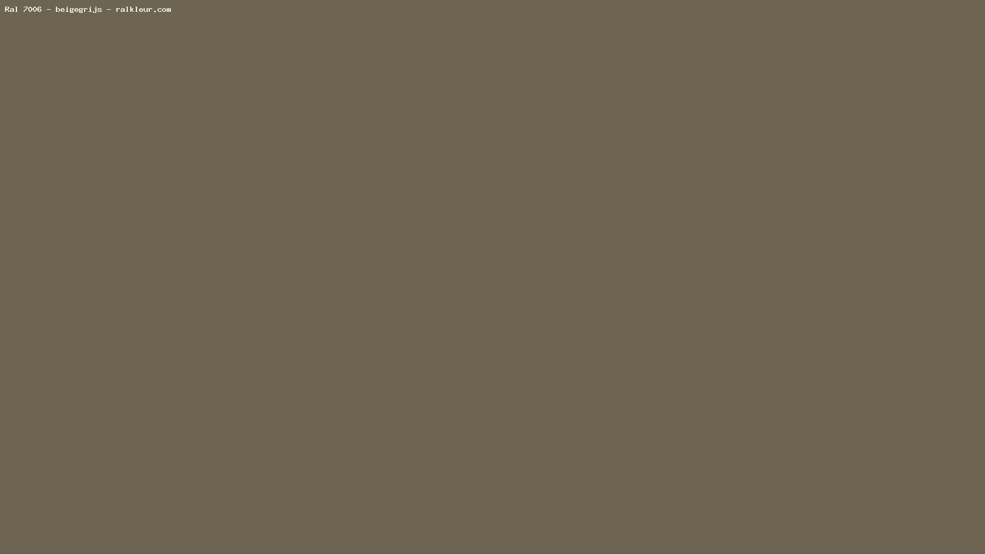Taupe kleur ral ub06 belbin info for Ral couleur taupe